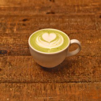 matcha latte - aosa coffee