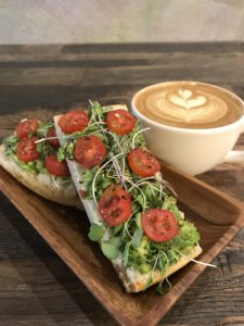 Avocado Toast AoSA Coffee Huntington Beach