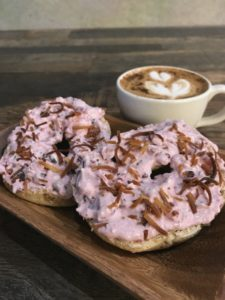 Cream Cheese Bagel AoSA Coffee Huntington Beach